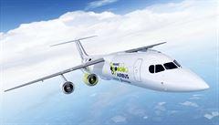 Airbus postaví hybridní letadlo. Bude mít tři tradiční a jeden elektrický motor
