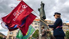 Kritika okupace u sochy Koněva? Skupina velvyslanců s doplňkem pomníku nesouhlasí