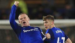 VIDEO: Rooney vstřelil první hattrick v dresu Evertonu v kariéře. A těší se na kouče