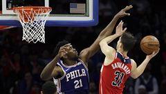 NBA: Satoranský si 12 body vyrovnal osobní maximum v NBA, Wizards ale prohráli
