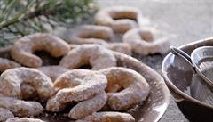 Vanilkové rohlíčky s vlašskými ořechy. Rakousko-uherské dědictví přetrvává