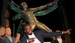 Bolt má na Jamajce bronzovou sochu. 'Jsem v šoku, jak je tohle možné?' divil se