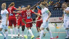 Florbalistky zdolaly ve čtvrtfinále Polsko 10:4 a jdou na favorizované Švédky
