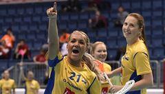 Florbalistky podlehly v semifinále MS favorizovaným Švédkám 1:7, zahrají si o bronz