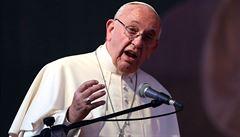 Papež: Reformovat Řím je jako čistit sfingu kartáčkem na zuby