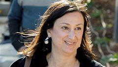 Z vraždy investigativní novinářky na Maltě soud obvinil tři muže