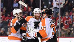 NHL: Voráček asistencí pomohl k výhře Flyers, Jágr opět nehrál