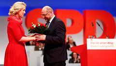 Německá sociální demokracie si do svého čela znovu zvolila Martina Schulze, začalo vyjednávání s CDU/CSU