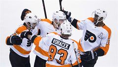 NHL: Voráček hvězdou večera. Pomohl k výhře své Philadelphii, skóroval i Simon a Sobotka