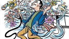 Pumpy zkouší, jaké aroma a melodie přivábí řidiče. Vede vůně čaje a pop-music