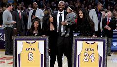 Když Lakers blahořečí svou legendu. Kobe, tys byl nejlepší, uznal i Magic