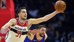 NBA: Satoranský hrál, když se dařilo, a Washington porazil New Orleans