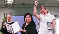 Nobelovu cenu za mír si odnesli bojovníci proti jaderným zbraním