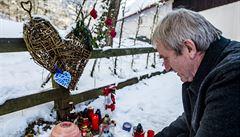 Svíčky, srdce, vzkazy: Lidé vzpomínali na Václava Havla na Hrádečku