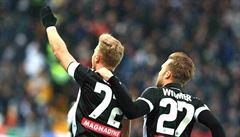 Barák gólem pojistil překvapivou výhru Udinese na hřišti lídra Serie A