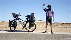 Na kole přes Afriku: Vánoce na Západní Sahaře a vedro