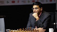 Indický velmistr Ánand je po 14 letech znovu mistrem světa v rapid šachu