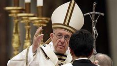 Ve stopách uprchlíků Josefa a Marie. Papež kritizoval nucenou migraci ve světě