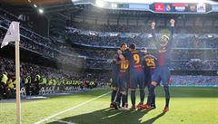 Barcelona ovládla El Clásico, na Real má náskok 14 bodů