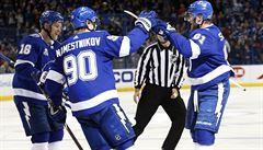NHL: Palát si připsal dvě asistence, Kämpf debutoval