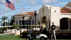 V Trumpově golfovém klubu na Floridě se střílelo. Nejsou žádné oběti