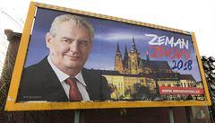 Dohledový úřad nevidí v Zemanově kampani chyby, popřela ale smysl transparentnosti