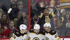 NHL: Hvězda utkání. Krejčí oslavil návrat do sestavy Bostonu gólem a asistencí