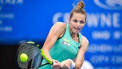 Kristýna Plíšková zaskočila Ostapenkovou, vyhrála i Strýcová. Berdych padl