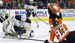 NHL: Voráček se přehoupl přes hranici 50 bodů a Philadelphia slaví výhru