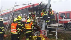 V Brně havaroval trolejbus, na místě byli čtyři lehce zranění