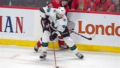 NHL: Hertl vstřelil dva góly, Simon hrál s Crosbym a dvakrát asistoval
