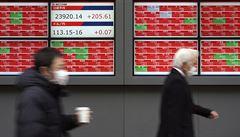 Japonské akcie uzavřely nejvýše za 26 let, burzu podpořily zisky z USA