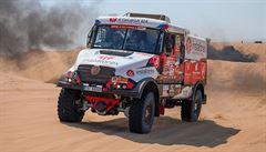 Další české trable. Loprais nedojel do cíle etapy a na Rallye Dakar nejspíš končí