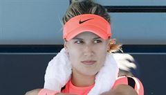 Pražský turnaj WTA narušil déšť, do druhého kola stihla postoupit jen Bouchardová