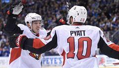 NHL: Chlapík pomohl Ottawě otřepat se z debaklu, Polák si dal vlastní gól