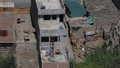 Pobřeží jižního Peru zasáhlo silné zemětřesení. Má minimálně jednu oběť