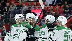NHL: Faksa s Hanzalem v NHL přispěli gólem k výhře Dallasu v Detroitu