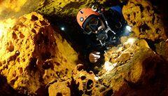 V Mexiku objevili největší podvodní jeskynní systém světa. Měří 347 kilometrů