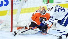 NHL: Neuvirth asistoval u vítězné branky, Palát ukončil gólový půst
