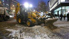 V Praze 1 známe sníh hlavně z vyprávění