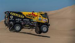 Macík se na Rallye Dakar posunul na třetí místo, Prokop je sedmý