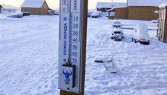 V příštím týdnu se výrazně ochladí, teploty spadnou pod nulu