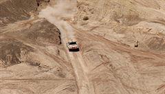 Prokop drží na Dakaru osmé místo, lídr Sainz mírně ztratil