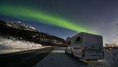 NOMÁDI: Ledovým královstvím aneb zimní Lofoty a Laponsko s obytným autem