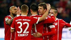 Bayern porazil Hoffenheim 5:2, bundesligu vede o 16 bodů