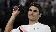 Věděl jsem o zranění soupeře a využil jsem ho, libuje se po postupu do finále Federer