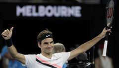 Federer si zahraje o jubilejní 20. triumf z grandslamu. Korejec Čong zápas vzdal