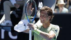 Berdych je ve čtvrtfinále Australian Open, Djokovič i Thiem překvapivě končí