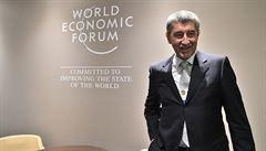 Babiš z Davosu: Je to unikátní akce. Divím se, že sem žádný český ministr ani prezident nejel