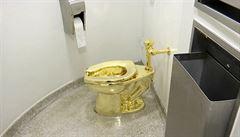 Trump chtěl od muzea půjčit slavný obraz, místo něj mu kurátorka nabídla zlatý záchod